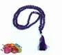 Malas  Gebetskette - Amethyst 7/8mm mit Samt-Tasche