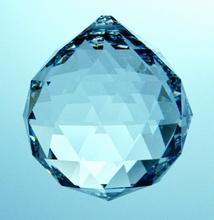 Regenbogen Kristalle - Kugel  40 mm