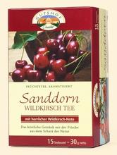 Sanddorn Tee -Wildkirsche Gutshof - Aufgussbeutel