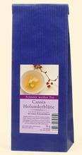 weißer Tee - Cassis Holunderblüte - 75 g Btl.
