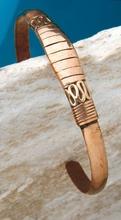 Armreif - Kupferarmreif 8 mm breit