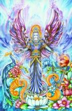 Briefkarten - Engel der Fülle