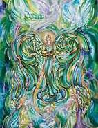 Briefkarten - Engel der Heilung