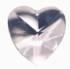 Regenbogen Kristalle - Herz  30 mm