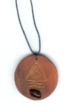 Amulett - Feueropal