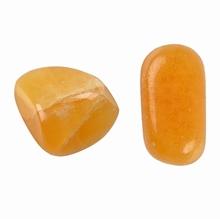 Calcit orange - Trommelstein Entwicklung und Selbstwert