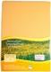 Spannbetttuch Blume des Lebens - mangogelb - 90-100x200 cm