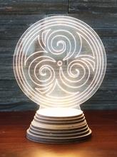 Triskell Ambientelicht aus Acryl