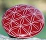 Blume des Lebens - Handschmeichler, rot