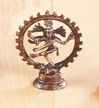 Shivas - Messing, ca. 10,5 cm