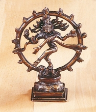 Shivas - Messing, ca. 16,5 cm