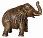Elefant - Großer Elefant mit Gravur, ca. 19 cm