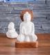 Buddhas - Alabaster Buddha groß ca. 21 cm