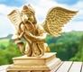 Garuda aus Messing - ca. 40 cm