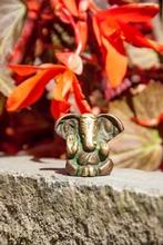Ganesha - Messing, 3 cm