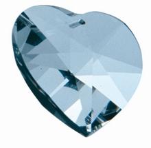 Regenbogen Kristalle - Herz  28 mm
