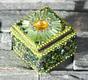 Sultans Schatz - grün - quadratisch 4.5 x 4.5 cm