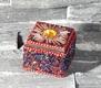 Sultans Schatz - rot - quadratisch - 4.5 x 4.5 cm
