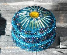 Sultans Schatz - blau - rund