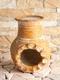 Räucherkamin Inka - gelb