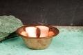 Räucherschale aus Kupfer - 8 cm