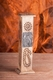Räucherturm Art mit Messing Emblem, ca. 30 cm