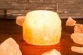 Salzkristall Teelicht bis 1 kg