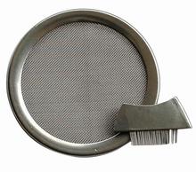 Räuchersieb - Edelstahl -  Ø 6 cm mit Bürstchen