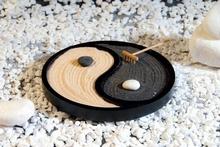 Zen Garten Yin Yang - schwarz