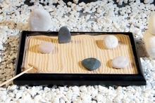 Zen Garten mit Steinen
