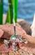 Räucherstäbchenhalter - Frosch versilbert