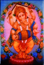 Magnetkarten - Ganesha