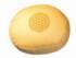 Meditationskissen -  Blume des Lebens - gold gelb