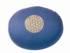 Meditationskissen -  Blume des Lebens - blau