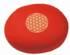 Meditationskissen -  Blume des Lebens - rot