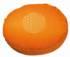 Meditationskissen -  Blume des Lebens - orange