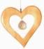 Kristallobjekt - Herz natur