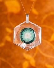Kristallines Sternenlicht - Anhänger, 60 mm