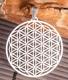 Blume des Lebens mit 19 Swarovski Kristallen