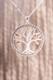 Weltenbaum Yggdrasil Anhänger mit Glaskristallen