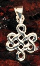 Anhänger - Keltischer Knoten Unendlichkeit 925er Sterling si