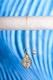 Spiralpendel Bergkristall - vergoldet, 9g