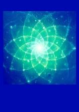Schwingungsbild - Sternenspirale