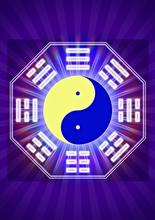 Schwingungsbild - Ying-Yang Ba Gua