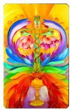 Engel Schutzkarte - Heilungskreuz