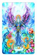 Engel Schutzkarte - Engel der Fülle