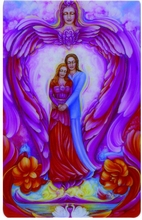 Engel Schutzkarte - Göttliche Liebe