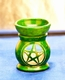 Aromalampe - Pentagramm - grün