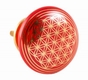 Türknauf - Blume des Lebens - rot - Keramik