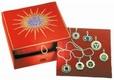 Anhänger - Box mit allen sieben Chakra-Anhängern 925 Silber